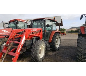 Tracteur NEW HOLLAND L75 + chargeur Mailleux