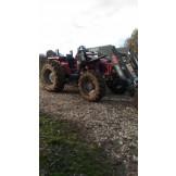 Tracteur Agricole Massey Ferguson 4345 chargeur